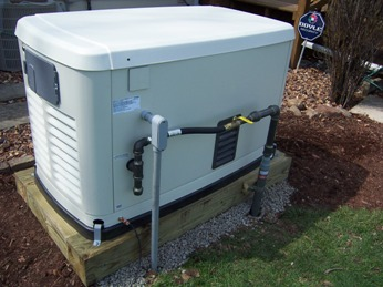 generac generator installation. 8 home power systems underground install method for both natural gas and electrical raceways notice the valve is turned off we are just finishing generac generator installation