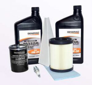8kW Generac Generator (Built 2008 - 2012) Maintenance Kit / #0J57640SSM