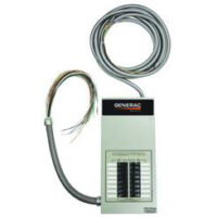 Generac - 16-circuit transfer switch with breakers 1