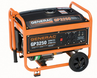 3250 Watt Portable Generator Model #5789 (California Compliant)
