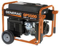 5500 Watt Portable Generator Model #5737 (California Compliant)
