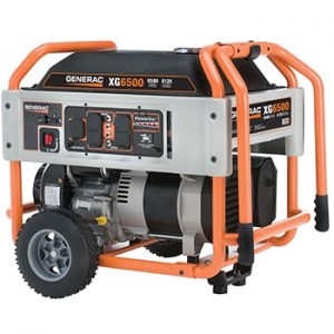 Generac XG Series Model #5796 Portable Generator