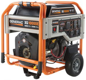 Generac XG Series Model #5802 Portable Generator