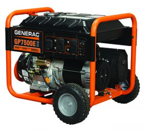 Generac GP Series Model 5943 7500watt Electric Start