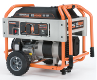 Generac XG Series Model 5846 8000E Portable Generator (California Compliant)