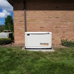 Generac automatic standby generator installed by Home Power Systems